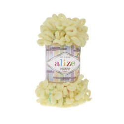 Пряжа Alize Puffy color цвет 5857