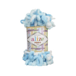 Пряжа Alize Puffy color цвет 5924