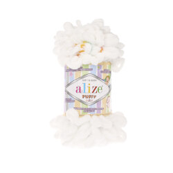 Пряжа Alize Puffy color цвет 5794